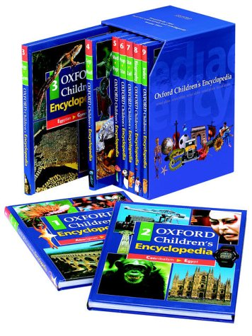 9780199105069: OXFORD CHILDRENS ENCYCLOPEDIA 98