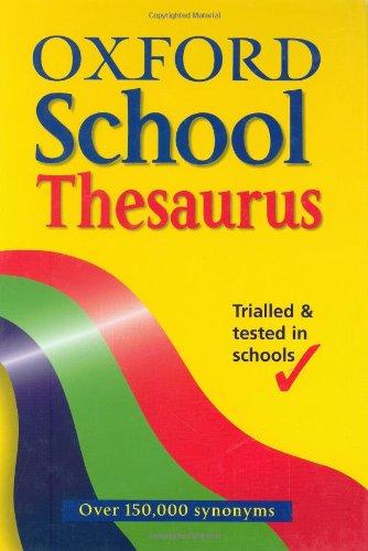 9780199108503: OXFORD SCHOOL THESAURUS