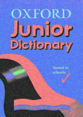 9780199108855: Oxford Junior Dictionary
