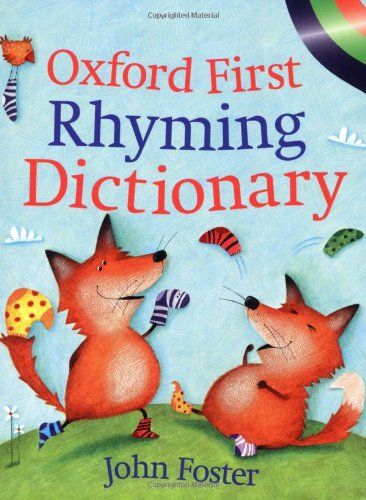 9780199109241: Oxford First Rhyming Dictionary