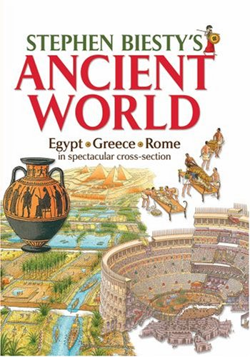 9780199109647: Stephen Biesty's Ancient World: Egypt, Rome, Greece in Spectacular Cross-section