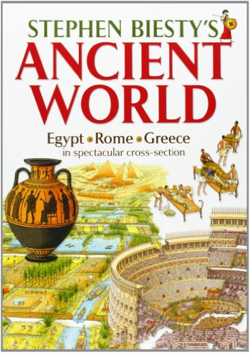 9780199109654: Stephen Biesty's Ancient World: Rome, Egypt and Greece in Spectacular Cross-section