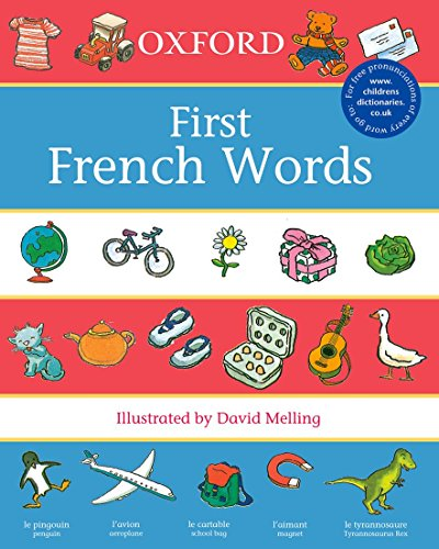 9780199110025: Oxford First French Words (First Words)