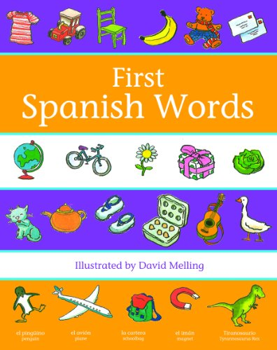 9780199110049: Oxford First Spanish Words (First Words)