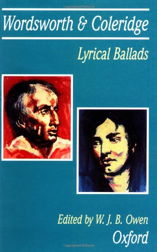 Lyrical Ballads, 1798: William Wordsworth, Samuel