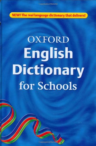 9780199112395: Oxford English Dictionary for Schools