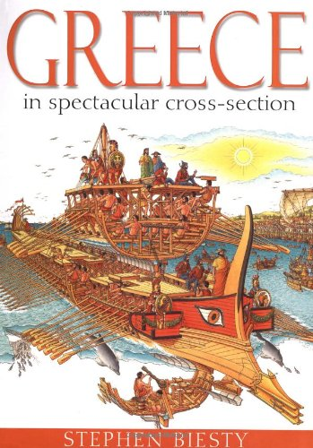 9780199115112: Greece in spectacular cross-section