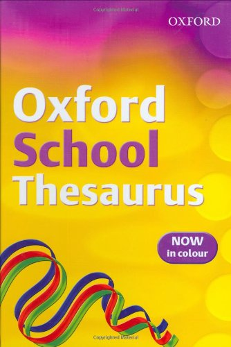 9780199115358: Oxford School Thesaurus