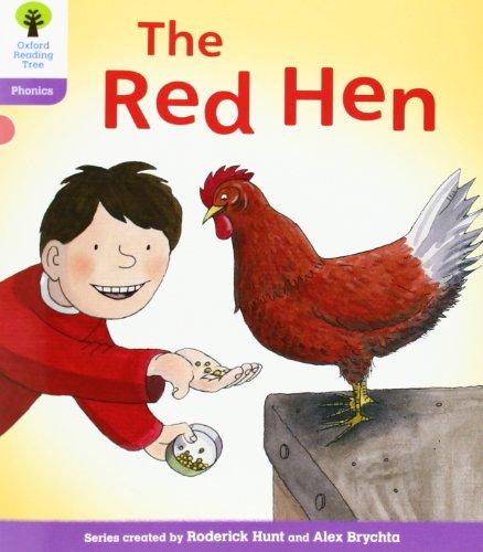 9780199117123: Oxford Reading Tree: Level 1+: Floppy's Phonics: The Red Hen (Floppy Phonics)