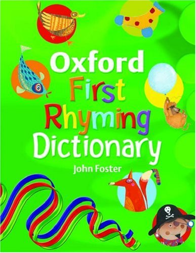 9780199118724: OXFORD FIRST RHYMING DICTIONARY