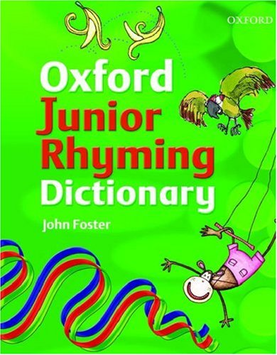 9780199118731: JUNIOR RHYMING DICTIONARY