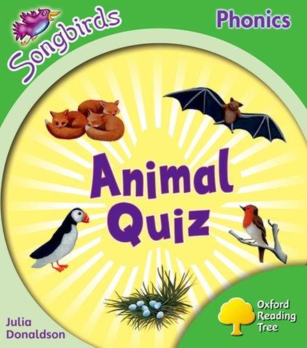 9780199119035: Oxford Reading Tree: Level 2: More Songbirds Phonics: Animal Quiz