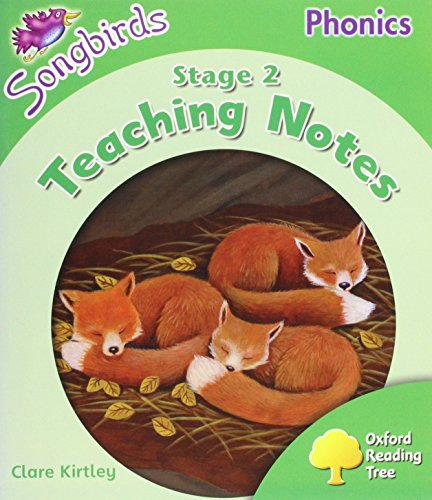 9780199119042: Oxford Reading Tree: Level 2: More Songbirds Phonics: Teaching Notes