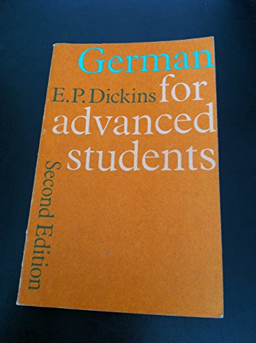 9780199120406: German for Advanced Students