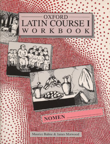 9780199121656: Oxford Latin Course: Student's Workbook 1