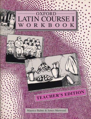 9780199121663: Oxford Latin Course: Teacher's Workbook 1
