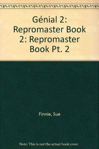 Genial: Repromaster Book Pt. 2 (019912213X) by Finnie, Sue; Green, Julie; Elston, Tony