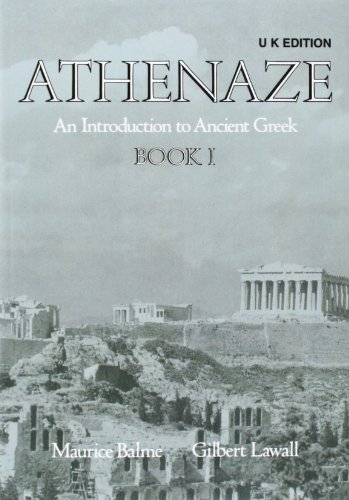 9780199122196: Athenaze: An Introduction to Ancient Greek Book 1 2e - UK Edition (Bk.1)