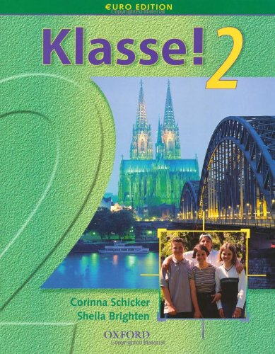 9780199122721: Klasse!: Student's Book Pt. 2