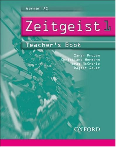9780199122912: Zeitgeist: Part 1: Teacher's Book 1