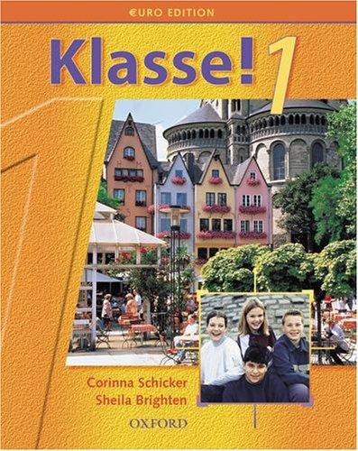 9780199123384: Klasse!1: Part 1: Students' Book Euro Edition: Student's Book Pt.1