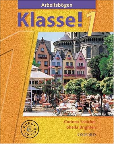 9780199123414: Klasse!1: Part 1: Copymaster Book Euro Edition: Copymaster Book Pt. 1
