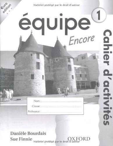 9780199123544: Equipe: Level 1: Workbook 1 Encore