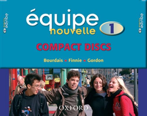 9780199124534: Equipe Nouvelle: Part 1: Set of 3 CDs