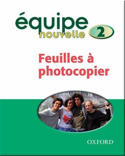 9780199124541: Equipe Nouvelle: Part 1: Copymasters