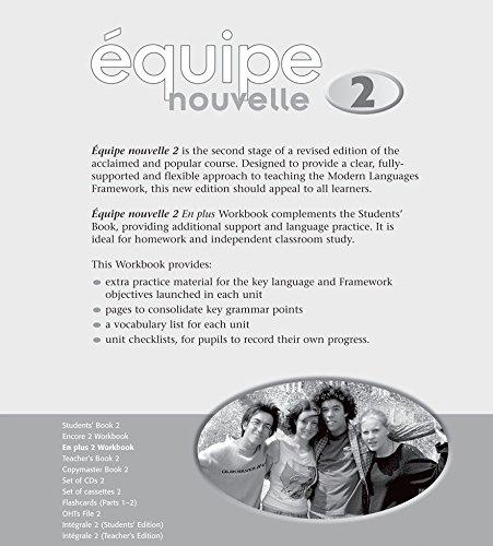 9780199124565: Équipe nouvelle: 2: En Plus Workbook (Equipe Nouvelle)