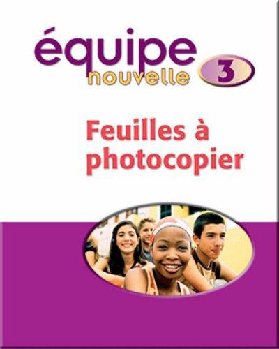 9780199124657: Equipe Nouvelle: Part 3: Copymasters