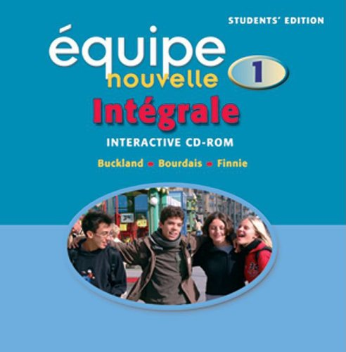 9780199125524: Equipe nouvelle: Part 1: Integrale: Students' CD-ROM