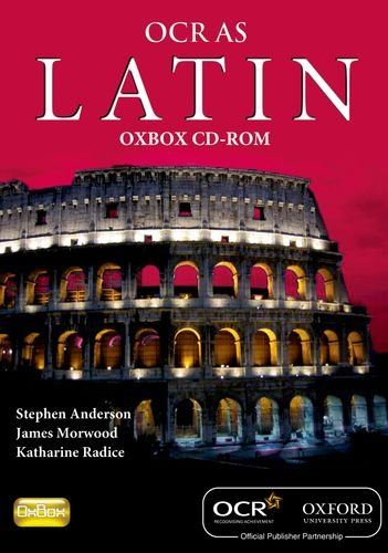 Latin for OCR AS OxBox CD-ROM (CD-ROM): James Morwood, Katharine