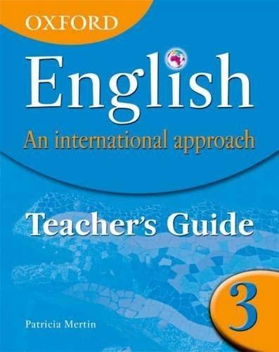 9780199126699: Oxford English. An International Approach 3: Teacher's Book