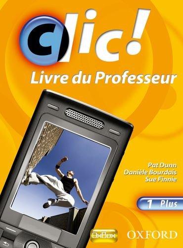 9780199126774: Clic!: 1: Teacher's Resource Book and CD Plus