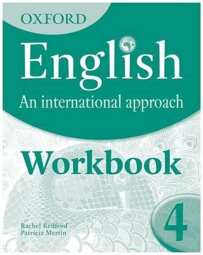 9780199127269: Oxford English. An International Approach: Workbook 4