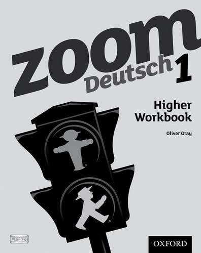 9780199127726: Zoom Deutsch 1 Higher Workbook