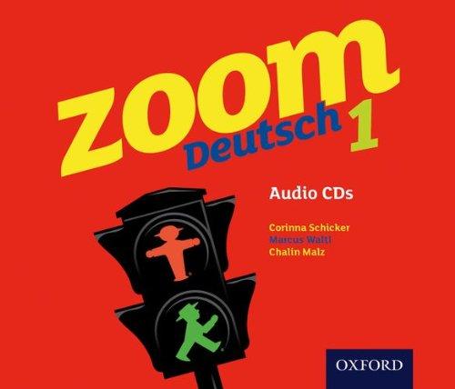 9780199127733: Zoom Deutsch 1 Audio CDs (4 Pack)