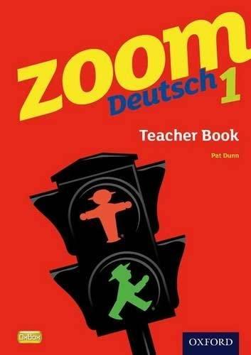 9780199127757: Zoom Deutsch 1, . Teacher Book (Oxbox)