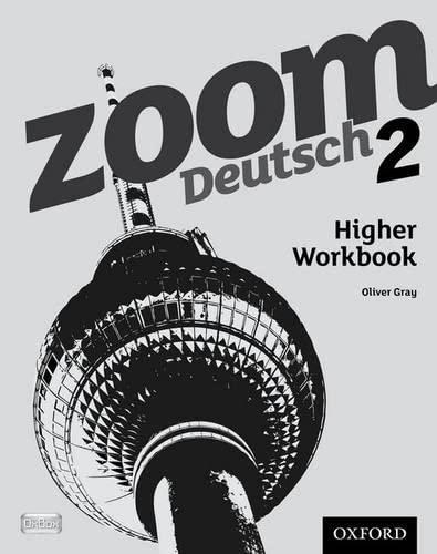 Zoom Deutsch 2 Higher Workbook (8 Pack): Gray, Oliver