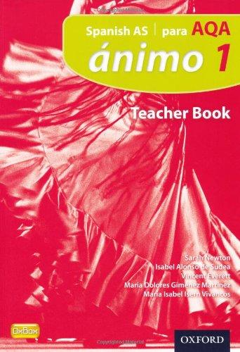 9780199129102: Ánimo: 1: Para AQA Teacher Book (Animo 2nd Edition)
