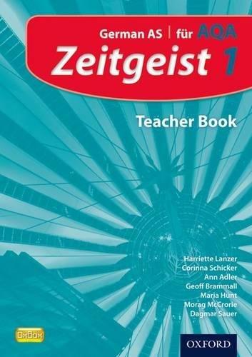 9780199129188: Zeitgeist: 1: Fur Aqa Teacher Book