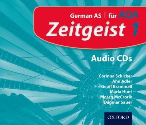 9780199129201: Zeitgeist: 1: Fur AQA Audio CDs