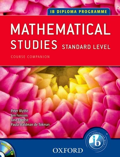 9780199129331: IB Course Companion: Mathematical Studies: 2nd edition (International Baccalaureate)