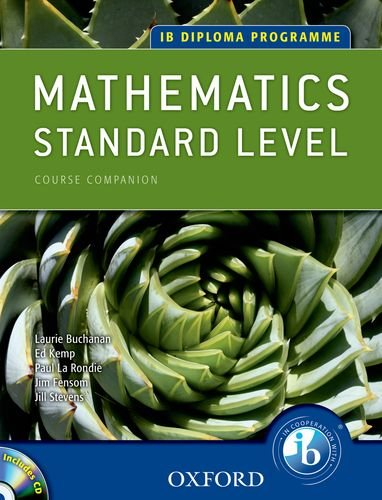 9780199129355: IB Course Companion: Mathematics, Standard Level (IB Diploma Programme)