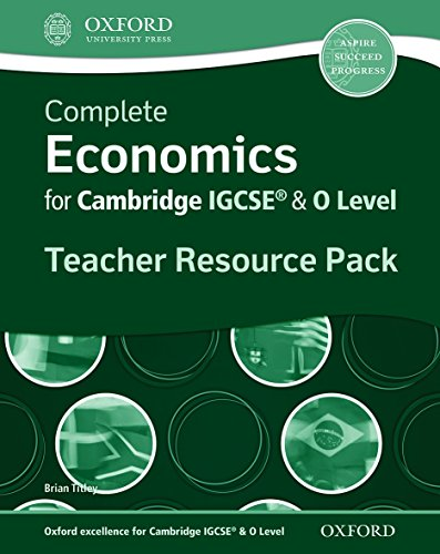 9780199129591: Complete Economics For Cambridge Igcse. Teacher's Resource Pack