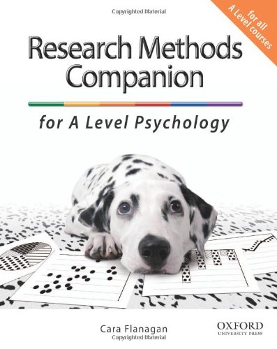 9780199129621: The Complete Companions: The Research Methods Companion for A Level Psychology