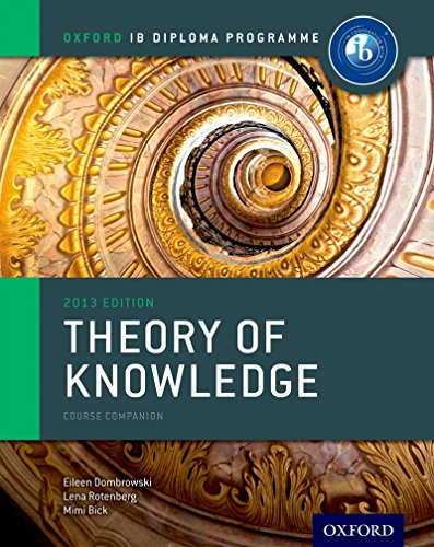 9780199129737: IB Theory of Knowledge Course Book: Oxford IB Diploma Program Course Book