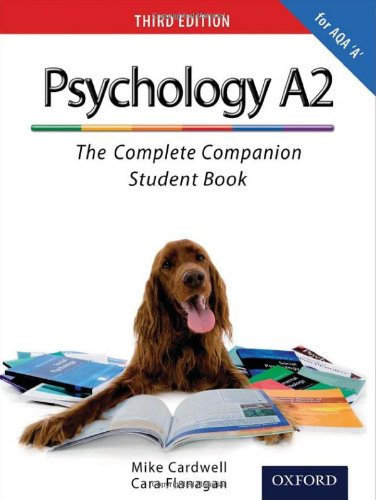 9780199129843: The Complete Companions: A2 Student Book for AQA A Psychology