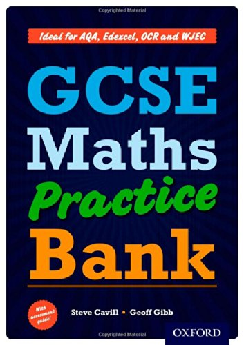 9780199130009: GCSE Maths Practice Bank